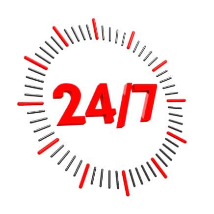 24/7 service van HTR
